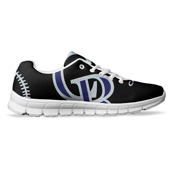 dcd2886c3943 Colorado Rockies Fan Made Custom Running Shoes